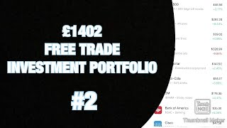 I Bought JNJ! | Freetrade UK Dividend Investment Portfolio | £1402 | EP2