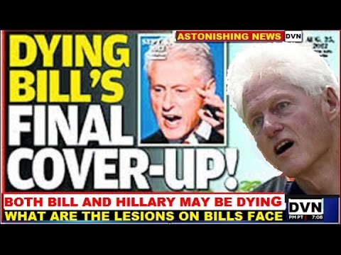 BILL CLINTON AT DEATH