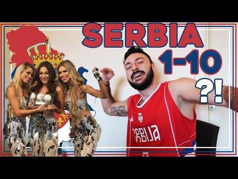 SERBIAN DUDE REACTING TO EUROVISION SONG CONTEST I SERBIA 2020 : HURRICANE - HASTA LA VISTA