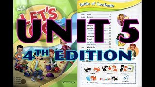Let's go-Let's begin-Unit 5 Animals(Động vật)-4th edition (the latest one)
