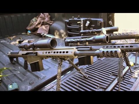Три крупнокалиберные снайперки .50 BMG | Разрушительное ранчо | Перевод Zёбры