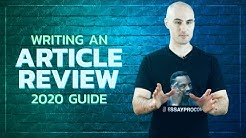 How to Write an Article Review | Example, Format, Dos and Don'ts [UPDATED]