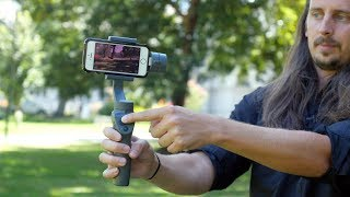 DJI Osmo Mobile 2 - Review and Sample Footage