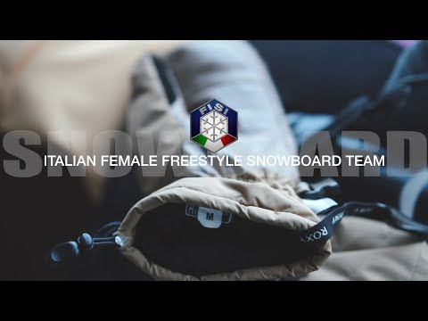 VFL_ITALIAN FEMALE FREESTYLE SNOWBOARD TEAM
