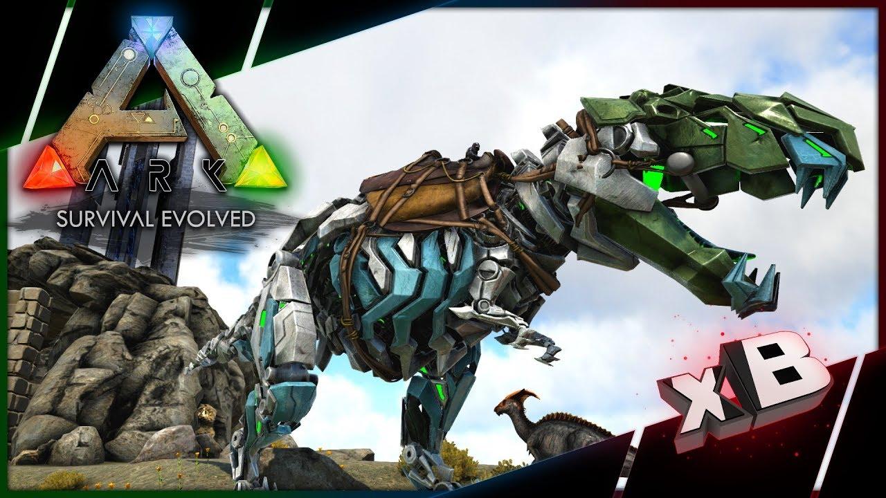 Easy 180 Tek Rex Tame! :: Let's Play ARK: Survival Evolved :: E07