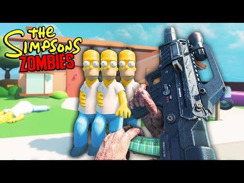 THE SIMPSONS SKY ZOMBIE MAP