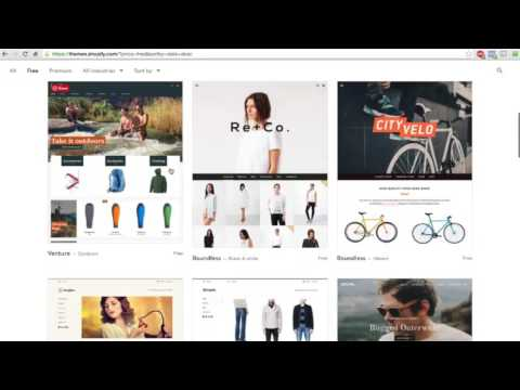 How to Using Shopify eCommerce Store with Facebook - Full Course
