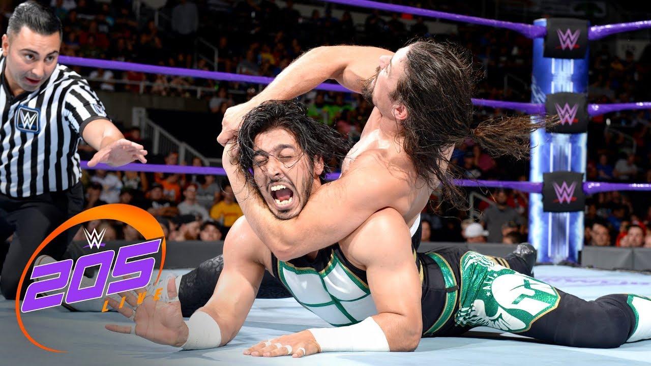 Download Mustafa Ali vs. The Brian Kendrick: WWE 205 Live, Aug. 15, 2017