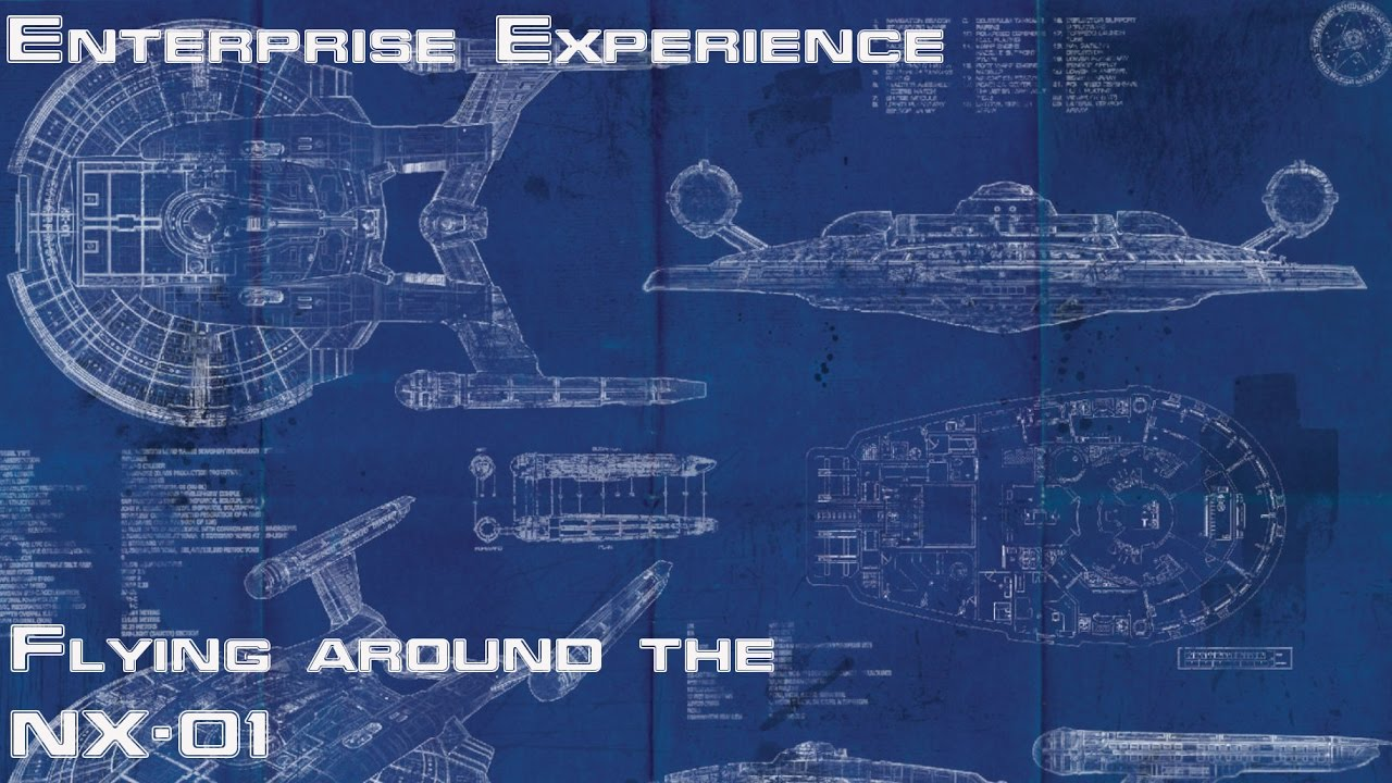 Starships in Virtual Reality: Enterprise Experience NX-01 on