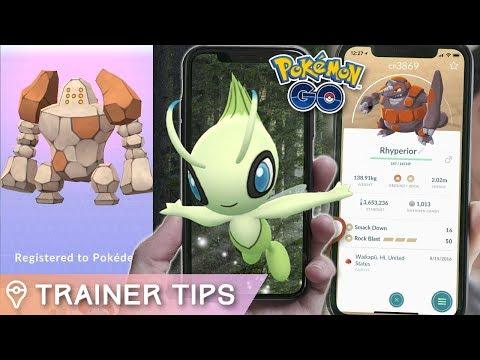 CELEBI RESEARCH, REGIROCK GUIDE, AND *GEN 4 COMING SOON?* in Pokémon GO