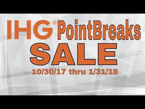 IHG Hotels PointBreaks Sale