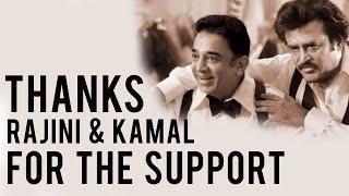 Karthi thanks Kamal, Rajini, Prakash Raj, Sathyaraj & Vadivelu's Support.