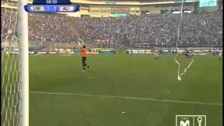christofer gonzales anota el gol en el clsico universitario 1 0 alianza lima copa movistar 2013