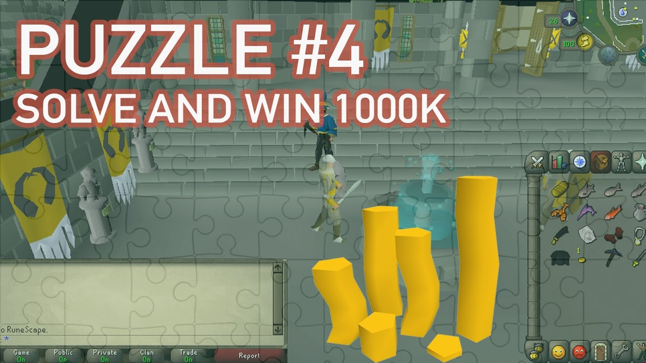 OSRS PUZZLE SOLVE AND WIN 1000K! Quest #4