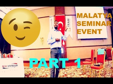 Trip to Malatya Seminar Event! English Language Teacher's Training