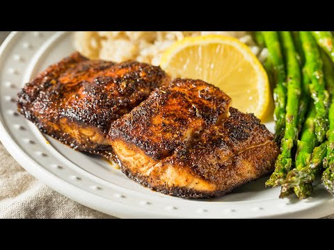 Simple & DELICIOUS Recipe For Blackened Flounder