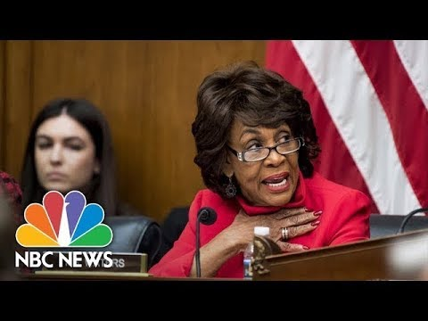 Reclaiming Her Time: Democrat Maxine Waters' Most Outspoken Moments | NBC News