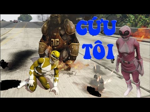 GTA 5 - 5 Anh em siêu nhân - Cuộc đời Gao Hồng|GHTG