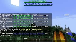 Minecraft Snapshot 18W05A Bossbar Tutorial