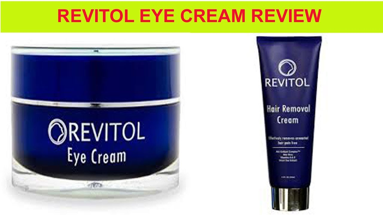 Revitol Eye Cream Review The Best Eye Cream Youtube