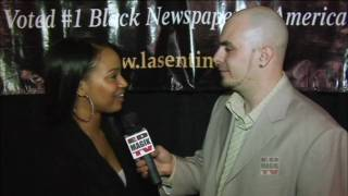 Kyla Pratt Red Carpet Interview at Wayne Simmonds Honors Ceremony