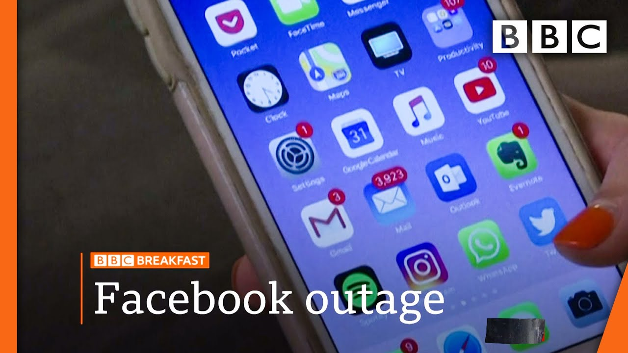 Facebook, Whatsapp and Instagram back after outage @BBC News live BBC