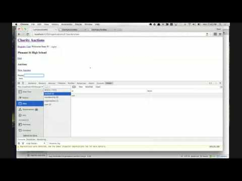 Live Code a Charity Auction Application: Episode 14 - Add Base Resources in Ember App