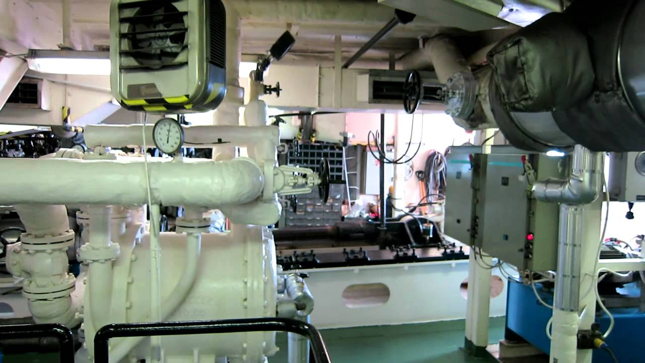 Engine Room American Queen July 2012 Youtube