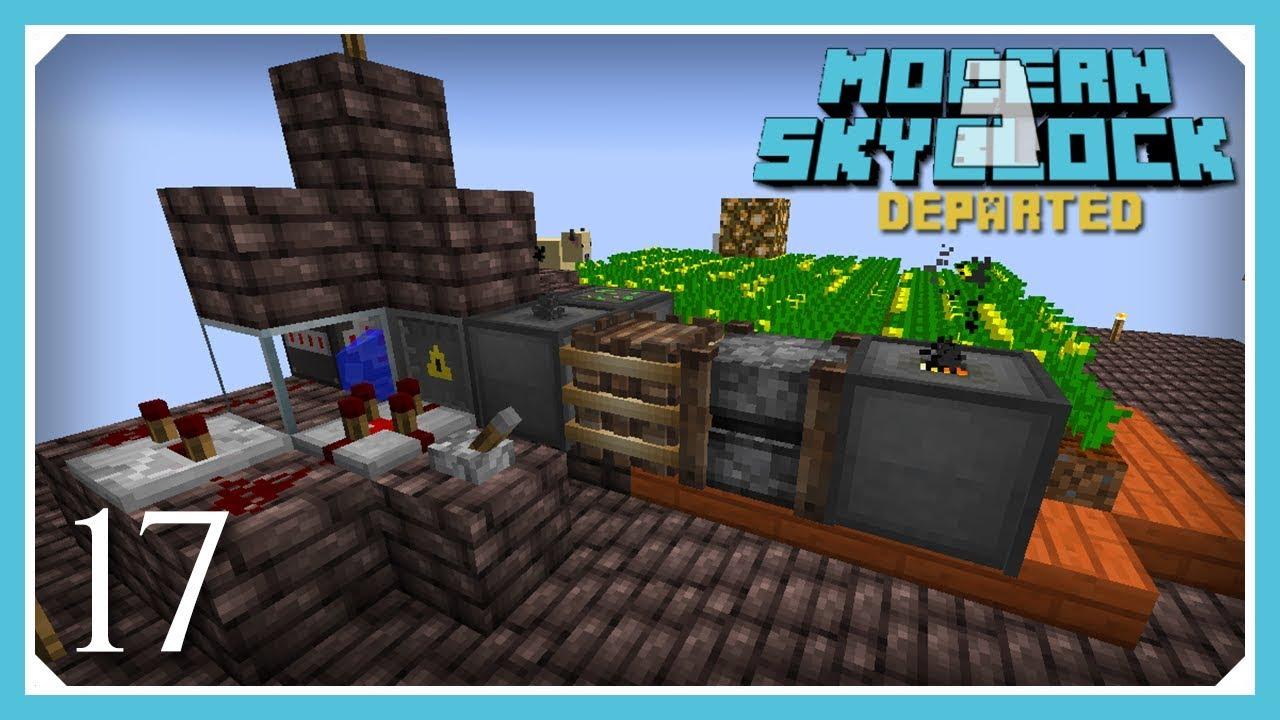 Modern Skyblock 3 Departed   Actually Additions Canola Farm Power!   E17  (Modern Skyblock 3 Gated)