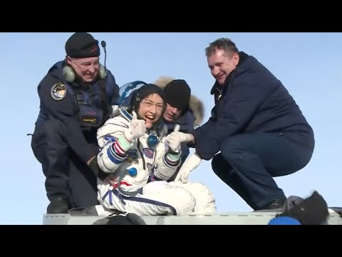 A Safe Return to Earth for a Record Setting Astronaut on This Week @NASA  February 7, 2020