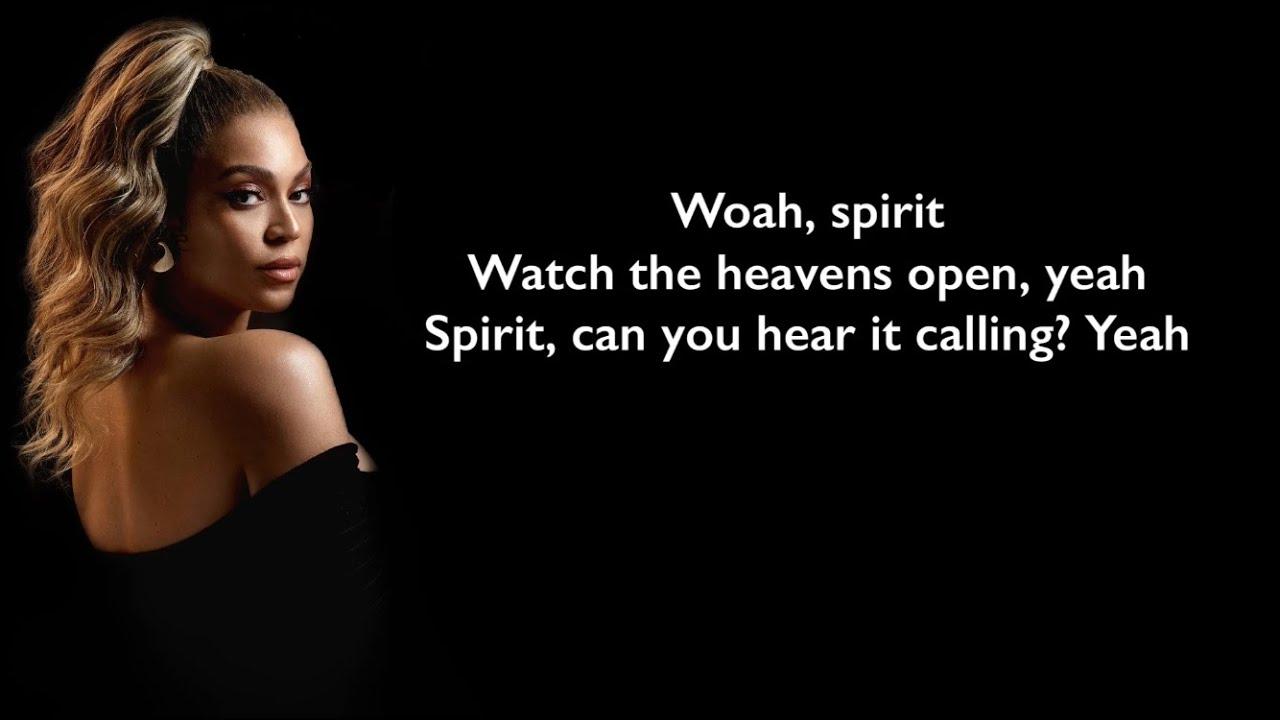 Download Beyonce - Spirit (Lyrics)