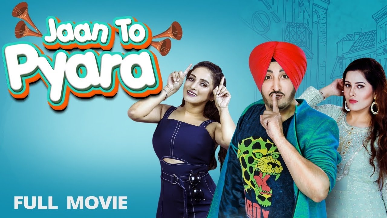 JAAN TOH PYARA Full Film (HD) Inderjit Nikku | Latest Punjabi Film 2020 | New Punjabi Movie