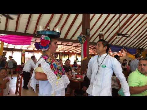 Cenote Hubiku, Restaurant, Yucatan, Dance