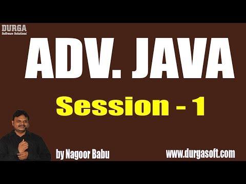 adv.-java-tutorials-||-session---1-||-by-mr.-nagoor-babu-on-10-05-2019
