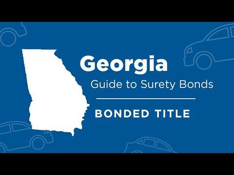 Georgia Bonded Title: A Guide