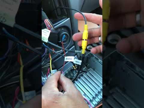 Installazione della retro camera auto