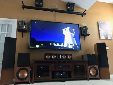 4K Dolby Atmos BluRay Demo  Klipsch POWERFUL Bundle
