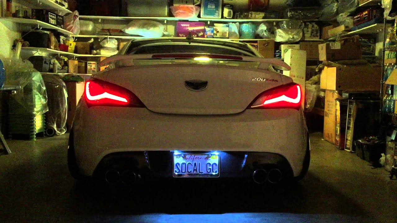 2013 Genesis Coupe Tail Light Mod