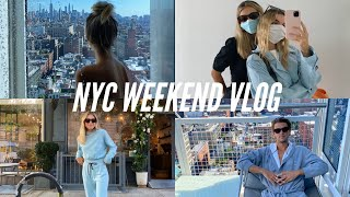 NYC Weekend Vlog: Staying at the Nomo Soho, boat experience, and lots of food dates (Carbone!)