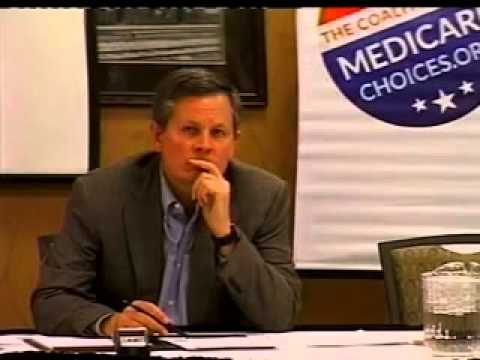 NBC News KBGF TV: Rep. Steve Daines Meets with Coalition Seniors on Value of Medicare Advantage