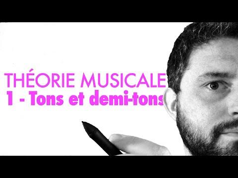 Vidéo 1 - Tons et demi tons (théorie musicale)