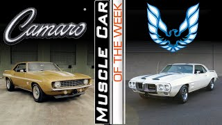 Camaro Vs. Firebird - Muscle Car Of The Week Episode 370
