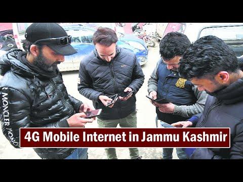 4G Mobile Internet Services in Jammu Kashmir