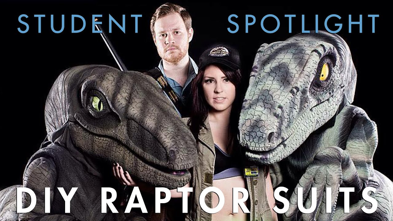 How we built raptor costumes inspired by jurassic park youtube how we built raptor costumes inspired by jurassic park solutioingenieria Choice Image