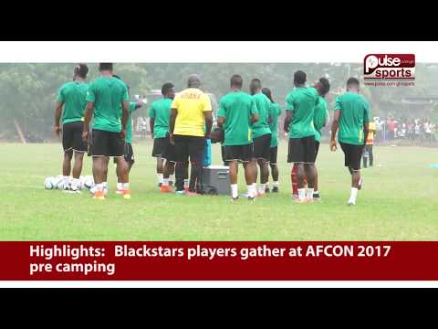 Black Stars Begin Pre-Camping In Accra | Pulse Sports