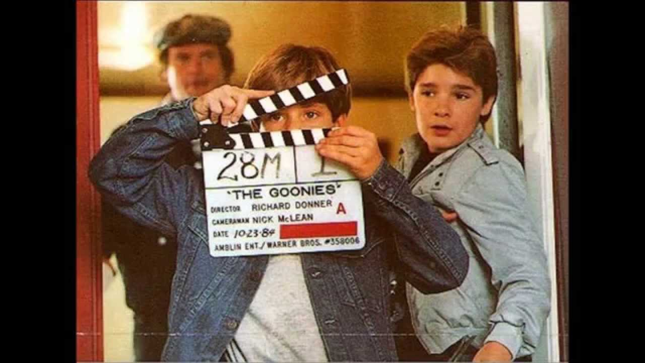 Behind The Scenes Photos The Goonies