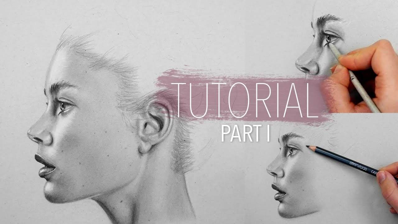 How to draw shade blend realistic skin part 1 step by step drawing tutorial