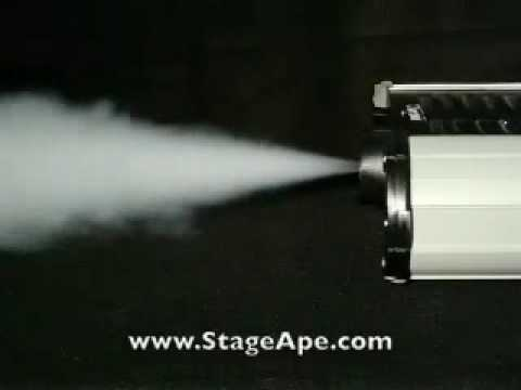 Trojan Stage FOG Machine from Stage Ape Lighting - YouTube