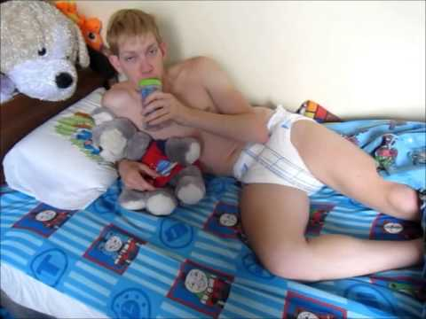 Wakeup Time for Blondboy Adult Baby