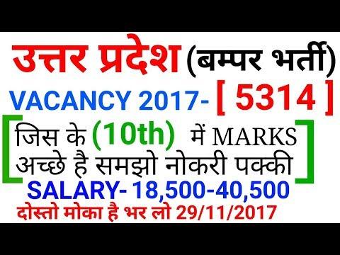 उत्तर प्रदेश बम्पर भर्ती 2017|| Garamin dak sevak post || UP LATEST VACANCY UPDATE ||